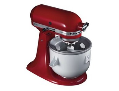 Avis sur le bol sorbeti re 1 9l kitchenaid 5kicaowh - L essentiel de la cuisine par kitchenaid ...